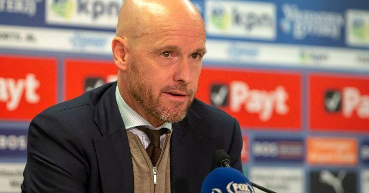Ten Hag: 'Ik heb hem geknuffeld, maar je bent hem tegen Vitesse wel kwijt'