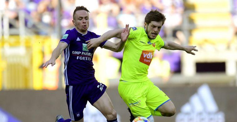 Anderlecht - KAA Gent kan fans niet bekoren: 'De kneusjes van Play-Off 1'