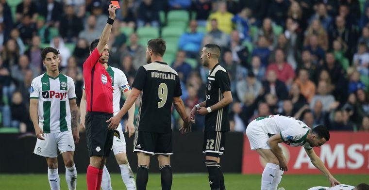 Higler verdedigt keuzes bij Groningen-Ajax: 'Jongen kan z'n arm er niet afhakken'