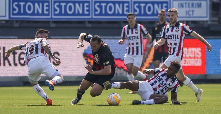 Willem II geeft voorsprong uit handen bij Excelsior: El Hamdaoui slaat toe