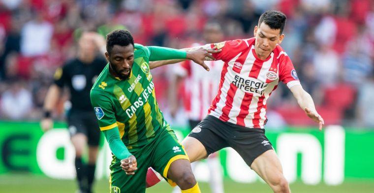 Perez vol ongeloof: 'Alsof hij na de winterstop zijn broer heeft gestuurd bij PSV'