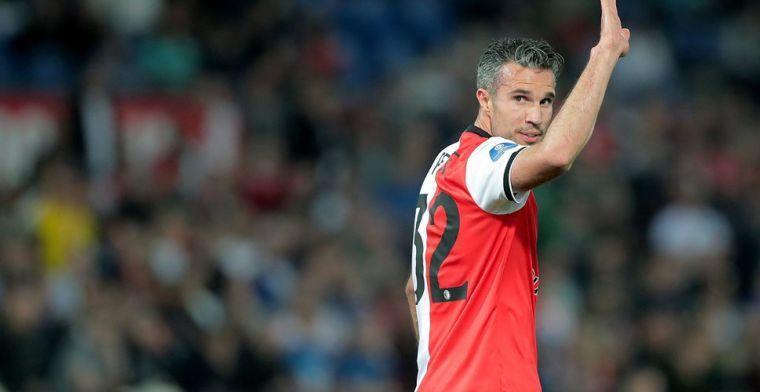 'Feyenoord zoekt een directeur, dan denk ik: Van Persie heeft heel groot netwerk'