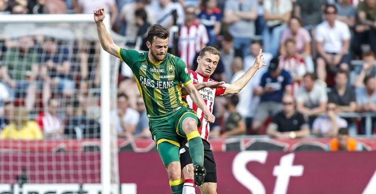 'Tegen PSV hard voor weinig, maar zou het leuk vinden om bij ADO te blijven'