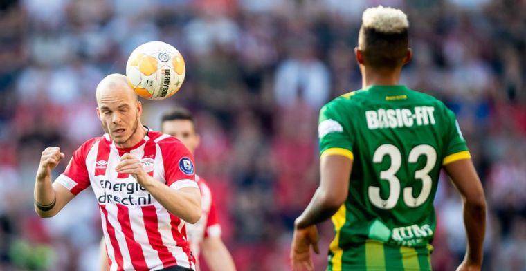 Janssen uit onbegrip over PSV-wissel Van Bommel in minuut 93: 'Even serieus...'