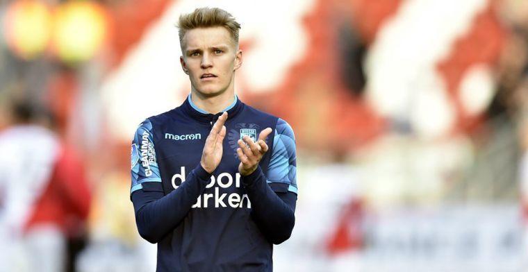 'Odegaard op dit moment de enige Eredivisie-speler die iets toevoegt aan Ajax'
