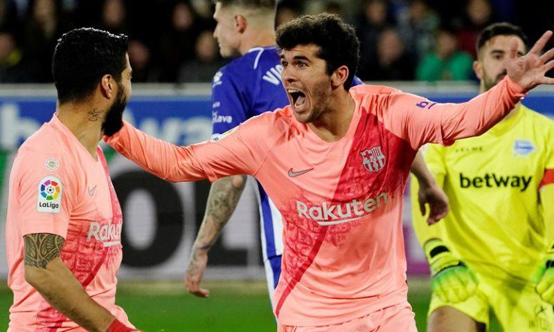 Afbeelding: Barcelona wint zakelijk en kan bij misstap Atlético Madrid kampioen worden