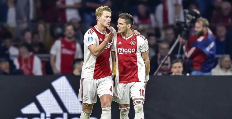 De Ligt: 'Hij doet het heel goed, om deze reden is hij ook gehaald door Ajax'