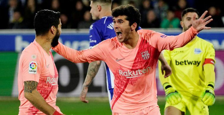 Barcelona wint zakelijk en kan bij misstap Atlético Madrid kampioen worden