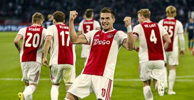 Bruggink en Perez speculeren over Tadic-transfer: 'Daar kan hij renderen'