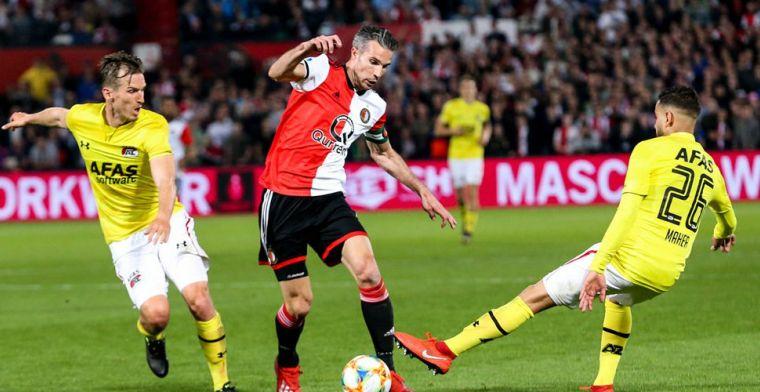 Van Persie prijst 'achilleshiel' van Feyenoord: 'Beetje een Frenkie de Jong-rol'