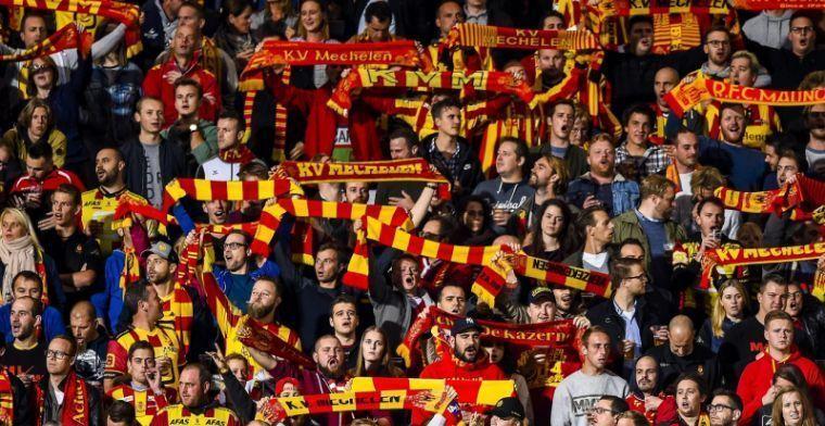 'KBVB eist degradatie van zowel KV Mechelen als Waasland-Beveren'