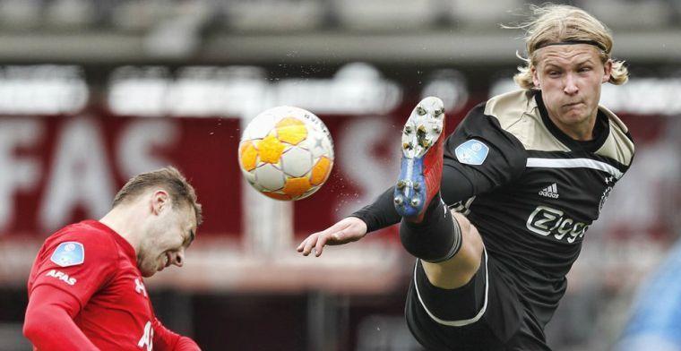 'Dolberg is ongeschikt voor Ajax, concurrentiestrijd met Huntelaar verlamt hem'