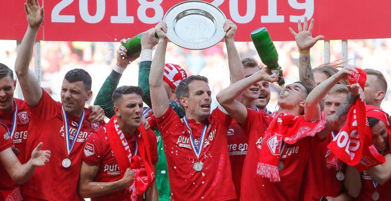 Borst heeft gemengde gevoelens over FC Twente-titel: Drie of vier ton salaris