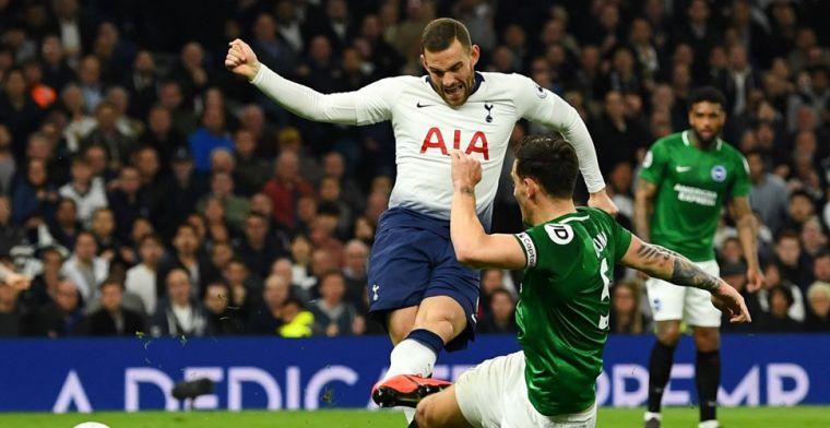 Tottenham wint in absolute slotfase dankzij Eriksen, Duivels gestuit door de paal