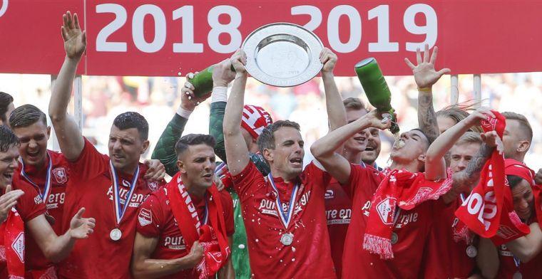 'Wonder dat we kampioen zijn geworden, fans waren beter dan wij hebben gespeeld'