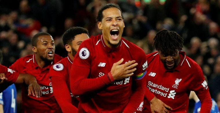Uitgelekt: 'Van Dijk verkozen tot beste speler van de Premier League'
