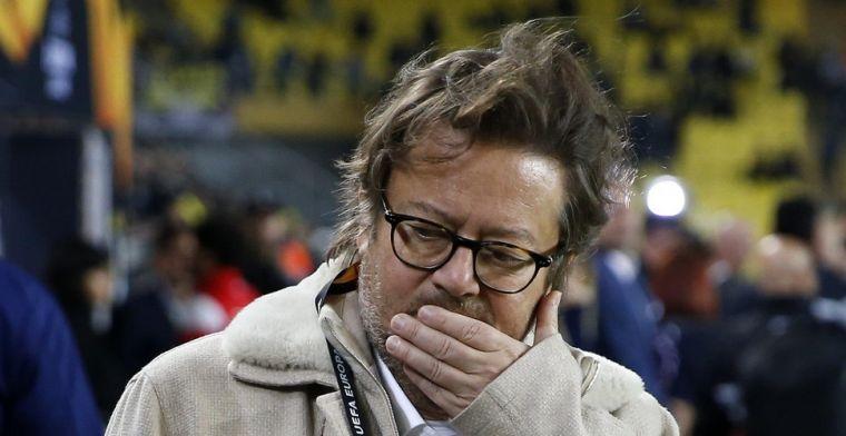 Voorzitter Coucke komt aan in Neerpede en reageert op inval bij Anderlecht