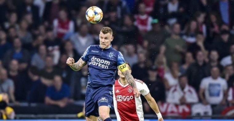 Twijfels bij tweede Ajax-penalty: Maar ik raak hem echt héél, héél licht