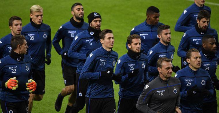 Het is mooi meegenomen dat Club Brugge zich nu ongemakkelijk voelt
