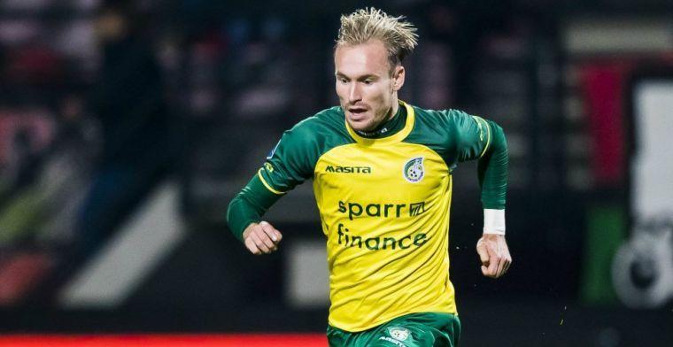 Fortuna-middenvelder wordt transfertarget: 'Clubs moeten wel voor me betalen'