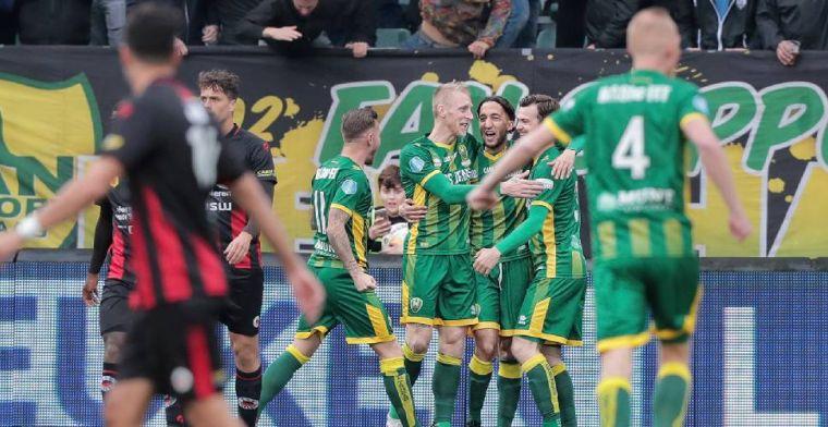 Zwak Excelsior gaat onderuit in Den Haag en geeft NAC Breda hoop