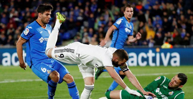 Real Madrid blijft ploeteren: derde averij in zeven wedstrijden onder Zidane