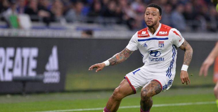 L'Equipe: Memphis mag komende zomer vertrekken bij Olympique Lyon