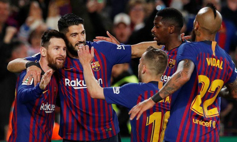 Afbeelding: Messi bezorgt Barcelona titel nummer 26 tijdens halve werkdag in Camp Nou