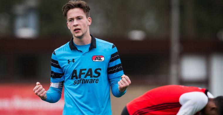 'PSV in pole position voor negentienjarige verdediger na vertrek bij AZ'