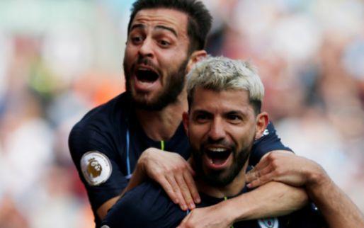 Afbeelding: Manchester City boekt cruciale zege op stug Burnley en kan landstitel ruiken