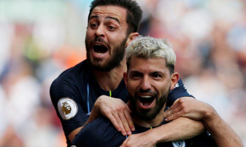 Afbeelding: Manchester City kan landstitel ruiken na bijzonder doelpunt van verlosser Agüero