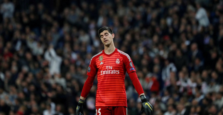 Courtois komt opnieuw boven water: eerste keer in basisploeg onder Zidane