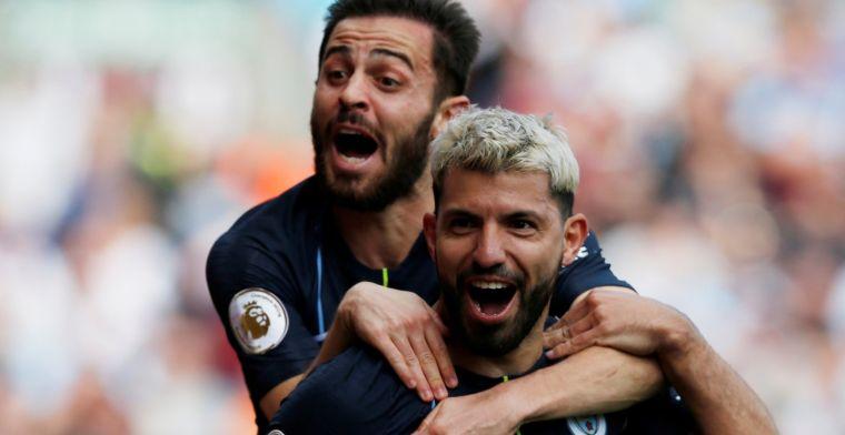Manchester City boekt cruciale zege op stug Burnley en kan landstitel ruiken