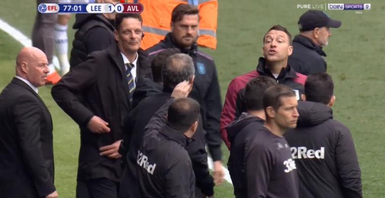 Zelden vertoond: Aston Villa mag scoren van Leeds United na knokpartij