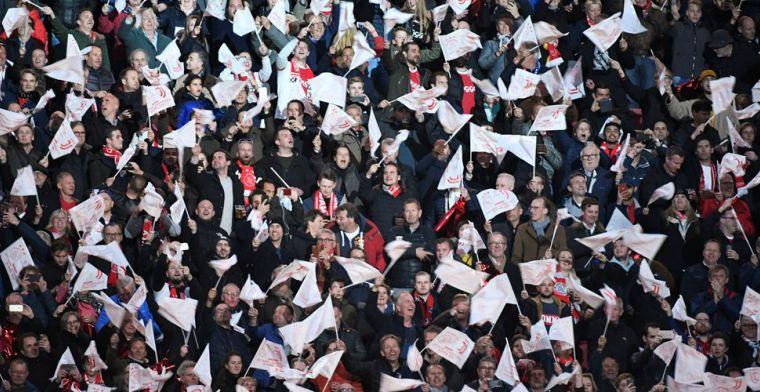 Ajax-fans hekelen 'successupporters': 'Daardoor lopen echte fans CL-kaartje mis'