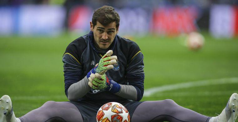 Voetballerij betuigt steun aan Casillas na hartaanval: 'Snel beter worden, vriend'