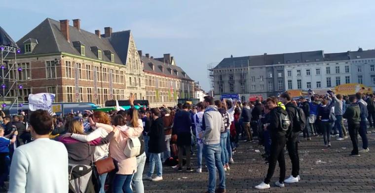 Schrijnende beelden: Ook KAA Gent organiseert feestje, fans hebben geen zin