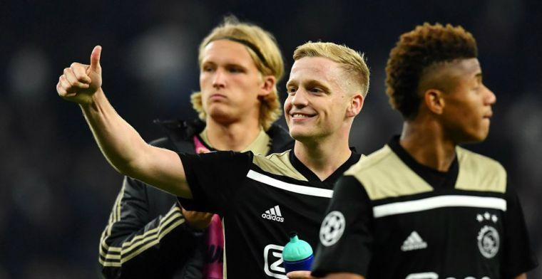 Ajax houdt Eredivisie op Champions League-koers: 79 van de 176 punten