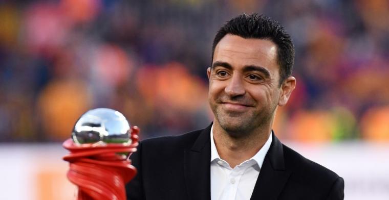 'Xavi (39) kan volgend seizoen als hoofdtrainer aan de slag in Primera Division'