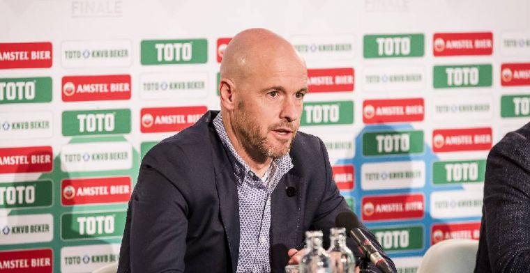 'Bayern neemt contact op met Ten Hag; Ajax wil trainer nog één jaar houden'