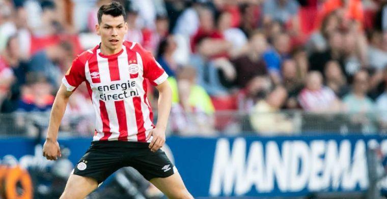 'Lozano ziet Napoli wel zitten, maar PSV wacht op officieel bod'