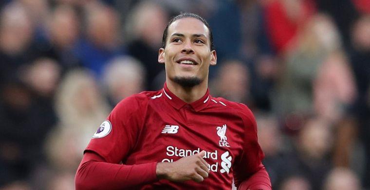 Van Dijk weer de grote man bij Liverpool: 'Hij nam een risico door dat te roepen'