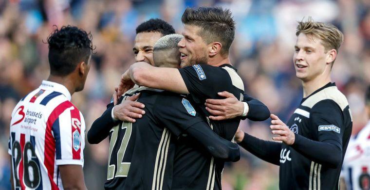 LIVE: Ajax verslaat Willem II in finale en pakt langverwachte prijs (gesloten)