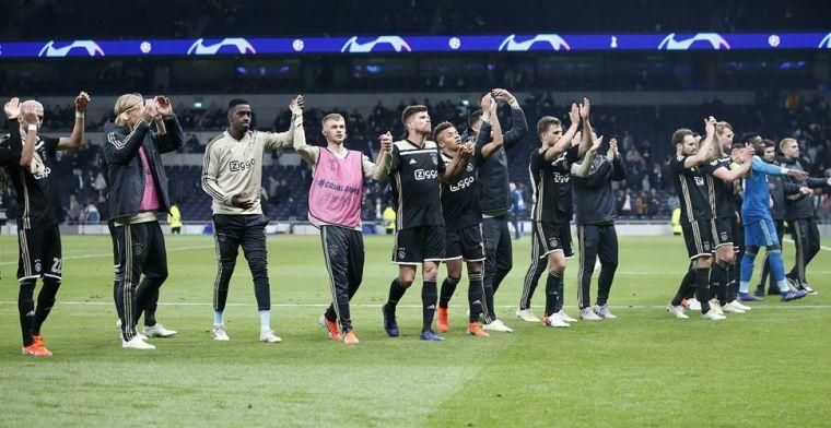 Ajax geeft Nederland 'sprankje hoop': 'Goed voetbal overstijgt clubflauwekul'