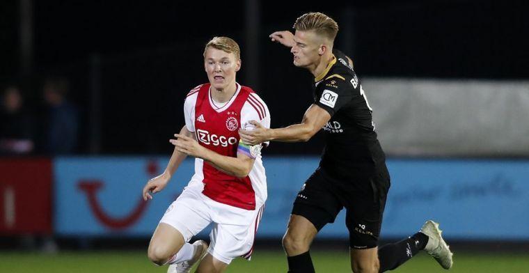 Telstar waarschuwt 'Ajax-spijbelaar' Van der Laan: Dan volgen er sancties