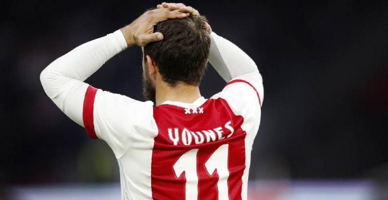Younes laat van zich horen: 'Het spijt me zo voor de spelers van Ajax'