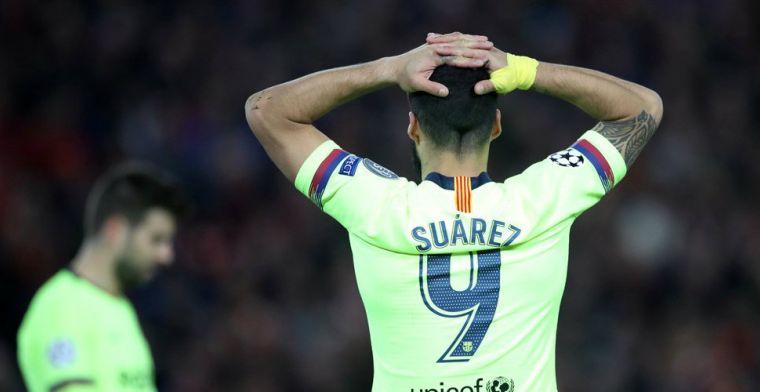 Barcelona krijgt flinke domper te verwerken, seizoen Suárez lijkt voorbij