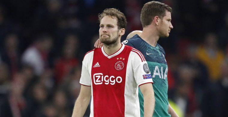 Hoe Blind het zichzelf en zijn medespelers bij Ajax lastig maakte tegen Tottenham