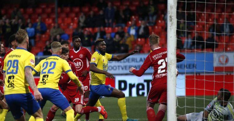 Almere weigert Cambuur knock-out te slaan, maar sleept goed resultaat uit het vuur