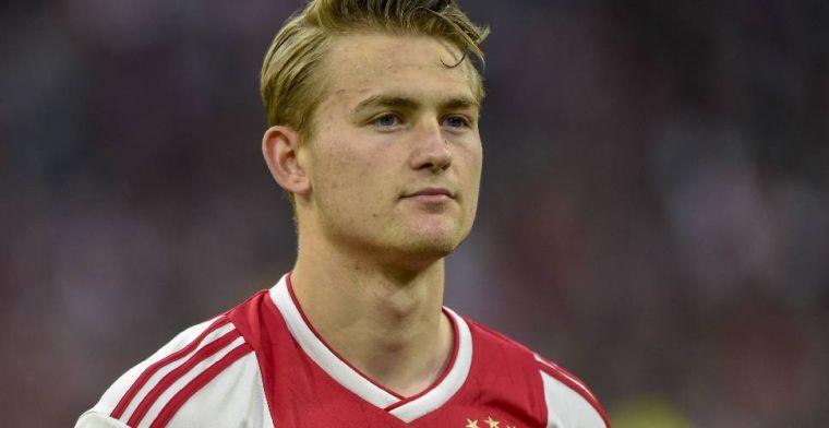 'De Ligt-deal op losse schroeven: extreme eisen Raiola, Ajax geeft geen krimp'